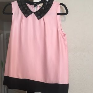 Kate Spade Rhinestone Sleeveless Top